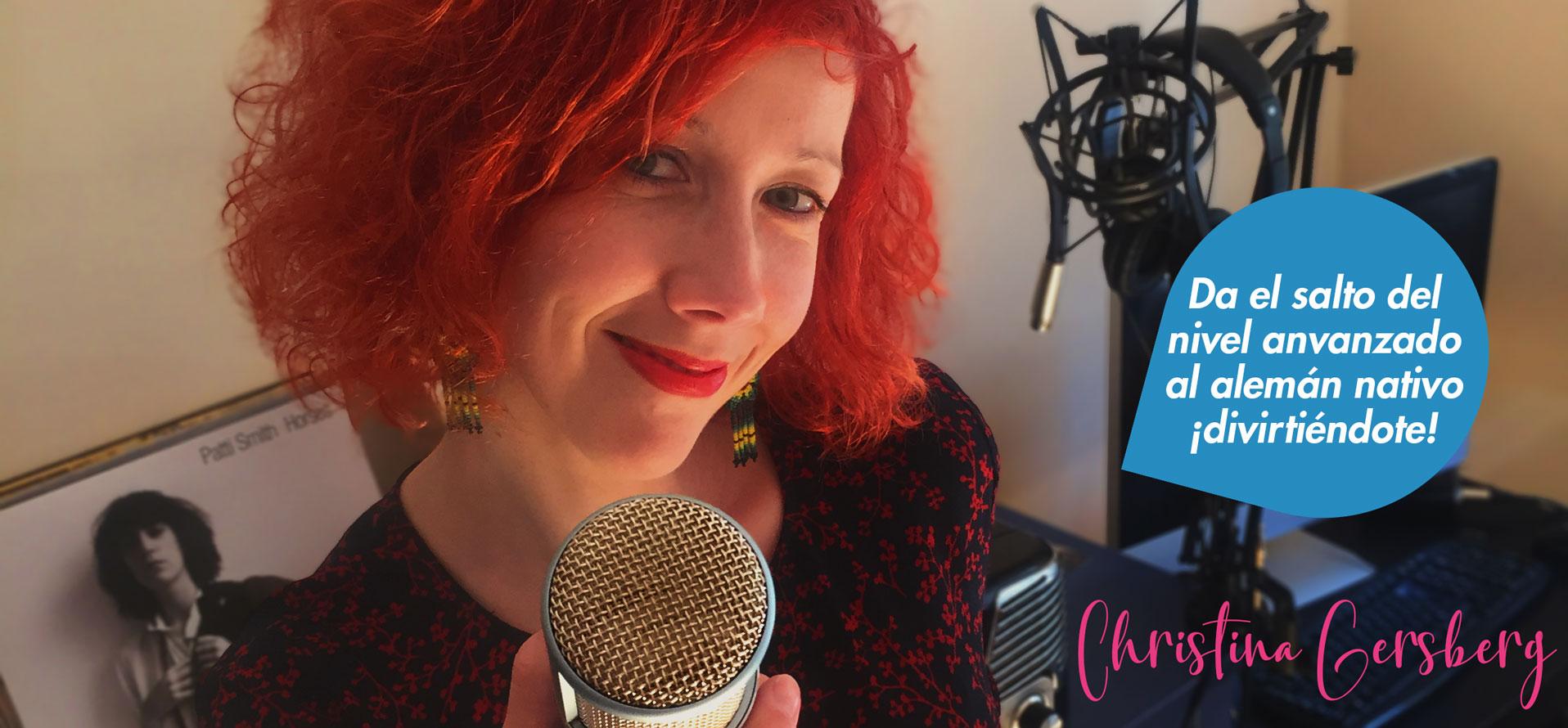 Christina Gersberg - curso de aleman online